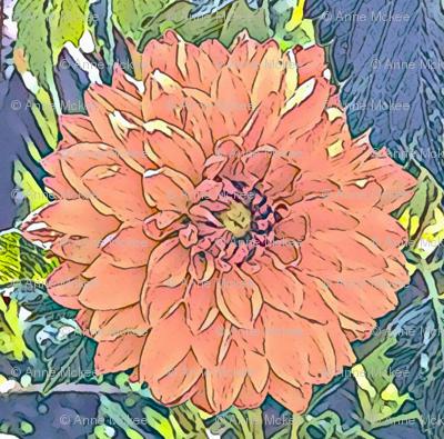 Copper Dahlia