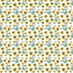 golden poppy repeat 4x4