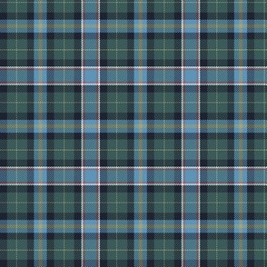 "Wisconsin official state tartan, 3"", weathered hues"