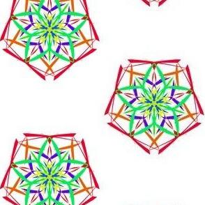 Pretty Pentagonal Stars