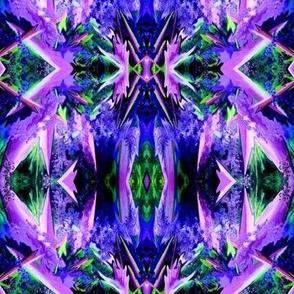 AF13 Mini Alien Fantasy in blue, purple and green