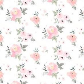 """2.5"""" Sweet Blush Roses"""