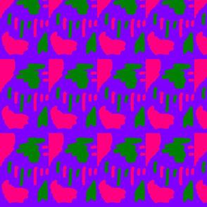 Furaha  Pink Green & Purple Funk 3