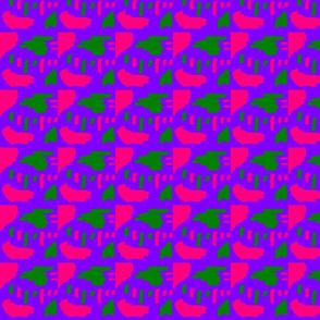 Furaha Pink Green & Purple Funk 2
