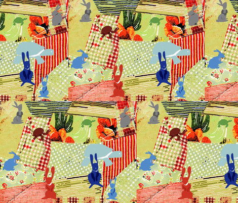 tortnhare1 fabric by jenniferschultz on Spoonflower - custom fabric