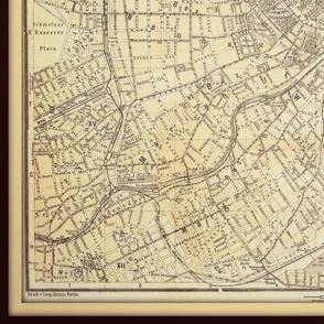 Vienna map, Austria yd