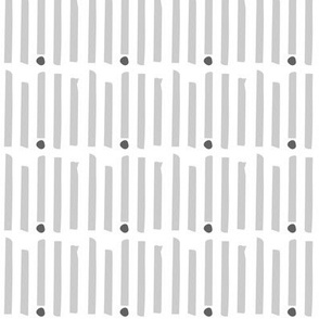 Gray Stripes With Dot