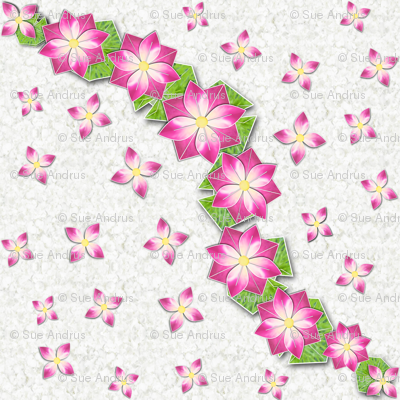 Origami small flowers square2 wallpaper andrusgardens spoonflower origami small flowers square2 mightylinksfo