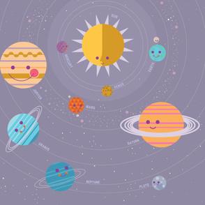 Solar System Variant Play Mat