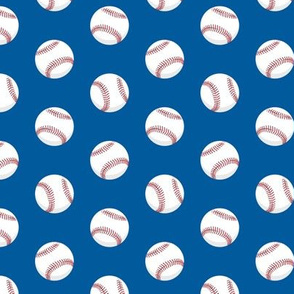 baseballs - blue