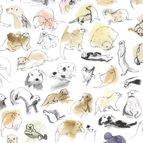 Otter Families