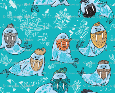 hipster walruses
