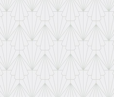 Deco Shells fabric by helena_nilsson on Spoonflower - custom fabric