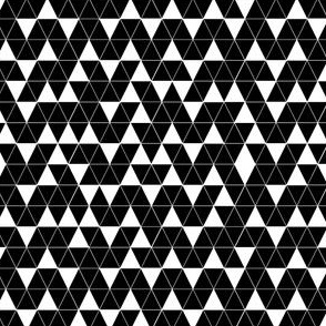 Irregular Triangles (dark)