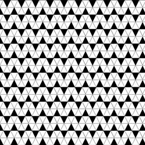 Haifish teath black and white