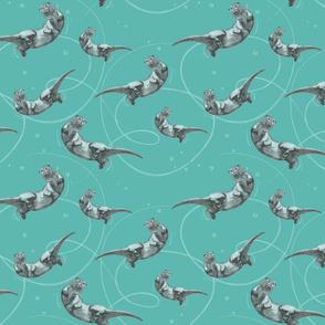 Otter Splash