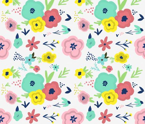 Flower Child fabric by magiccow on Spoonflower - custom fabric