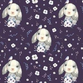 """4"""" Lilac Bunny - Violet"""