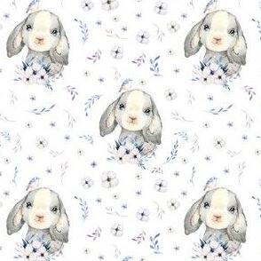 """4"""" Lilac Bunny"""