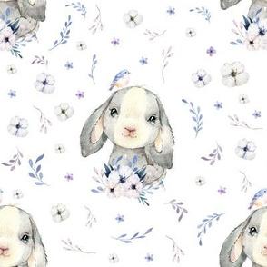 """8"""" Lilac Bunny"""