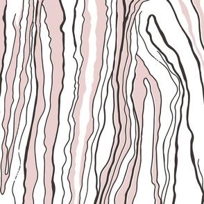 Pink tree bark