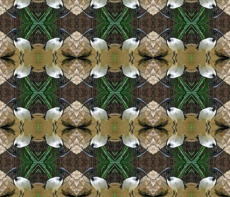 Crane fabric by jacneed on Spoonflower - custom fabric