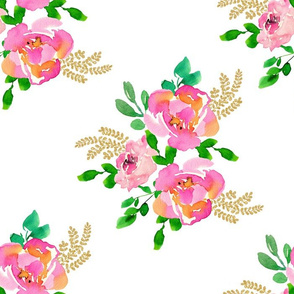 "14"" Lila the Mouse Florals - Mix & Match"