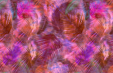 Ho'okena pink fabric by schatzibrown on Spoonflower - custom fabric