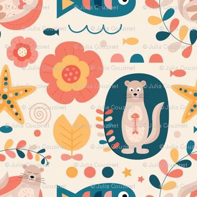 Otter-flowers