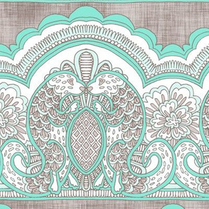 Otter Lace Teal