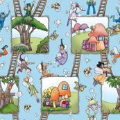 Fairies & Ladders