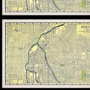 1905 Denver map, small