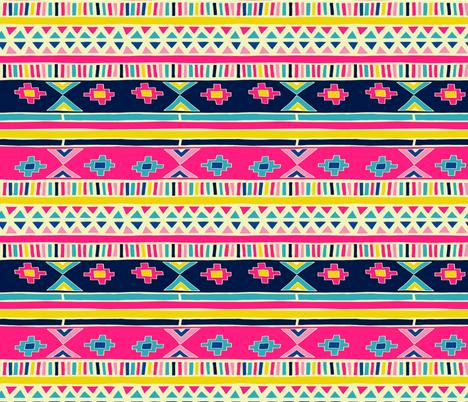 geo playground fabric by sarekaunique on Spoonflower - custom fabric