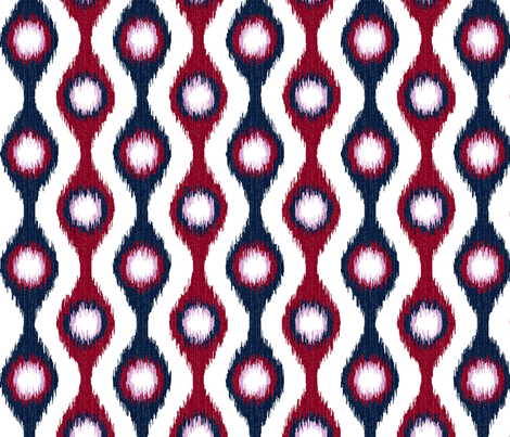 Ikat String Beads fabric by wickedrefined on Spoonflower - custom fabric