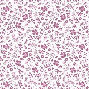 Timeless B - Tiny Floral - Purple