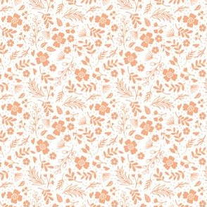 Timeless B - Tiny Floral - Peach