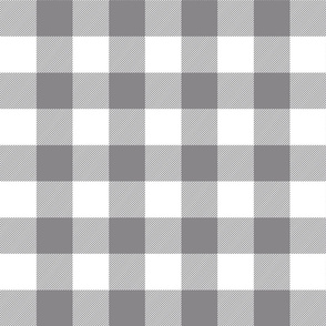 buffalo plaid 2in granite grey and white
