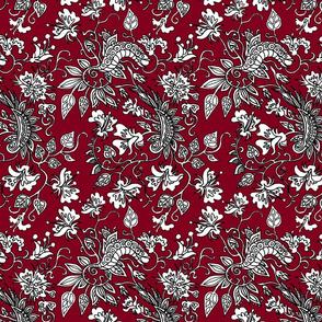 Queens Burgundy Dress