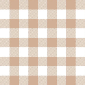 buffalo plaid 2in toasted nut and white