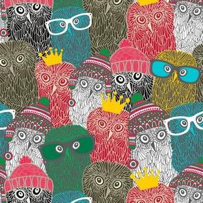 Many owls