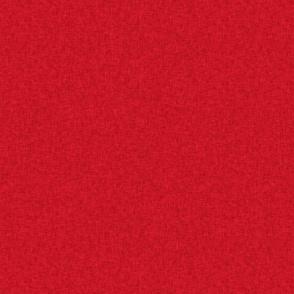 Pet Quilt A - Red coordinate - linen-look fabric