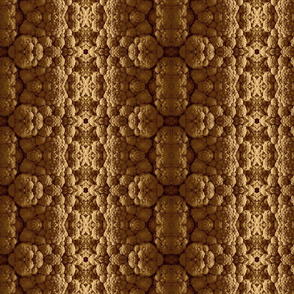Cable Knit Cauliflower brown