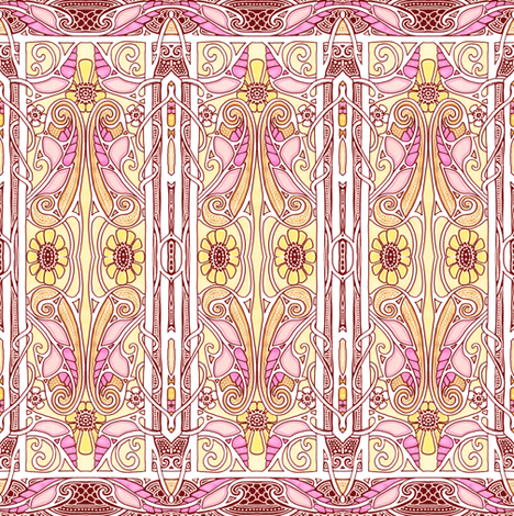 Spring 1904 Revisited fabric by edsel2084 on Spoonflower - custom fabric