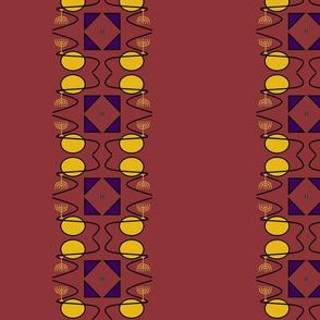 Menorah evolution rust mauve