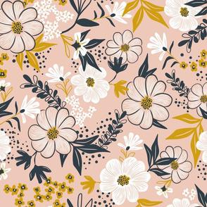 Harper Floral - Pink Blush