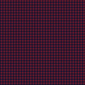 Dogtooth (burgundy and navy)