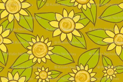 SUNFLOWER SMALL SCALE DESIGN