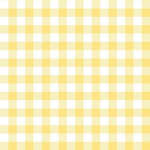 buffalo plaid 1in sunshine yellow and white