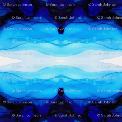 Ocean Blue Kaleidoscope