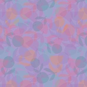 Sumer Flower Fade Purple
